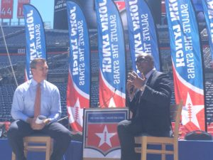 Broncos Head Coach Vance Joseph at Salute the Stars 2017